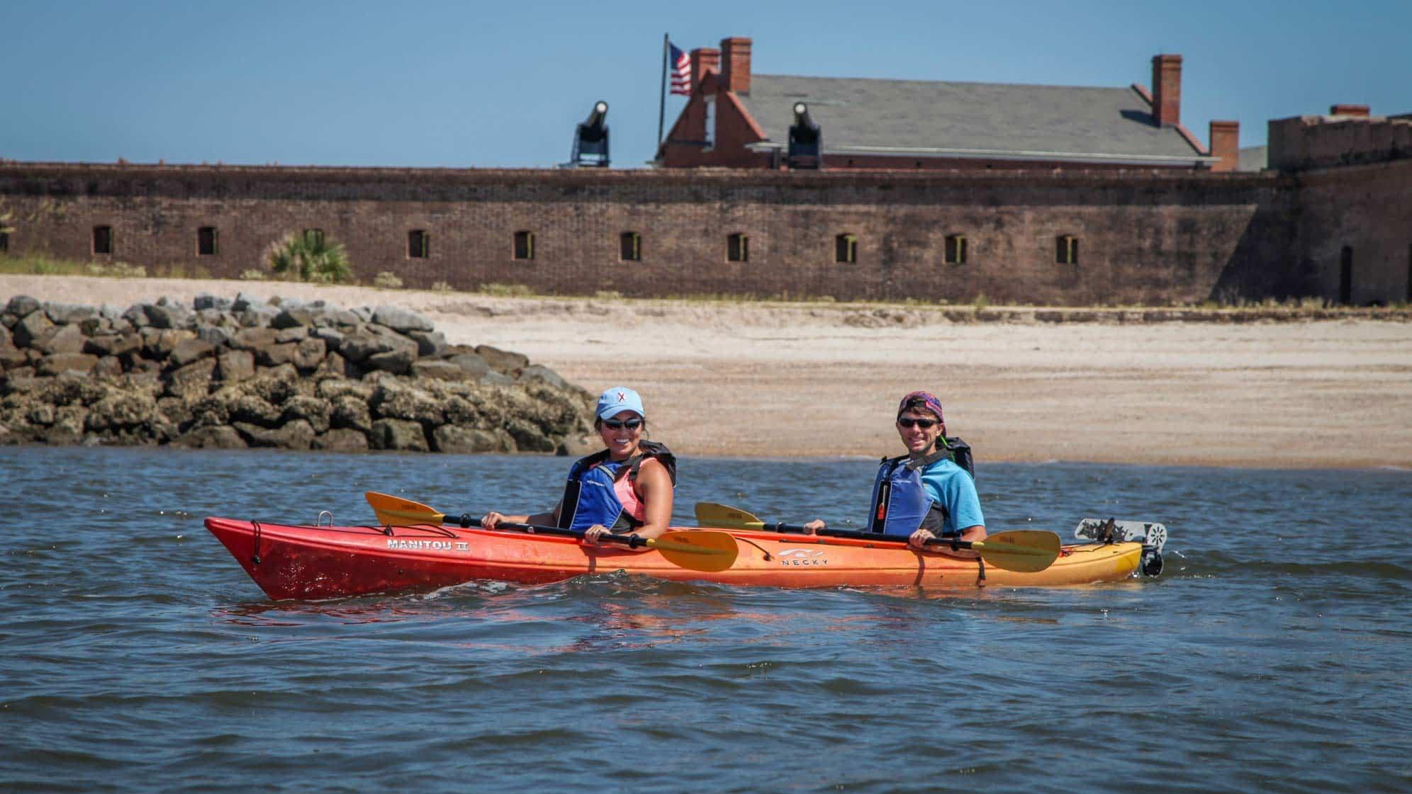 Cumberland Island Kayak Tour - Wild Horses - Kayak Amelia Island