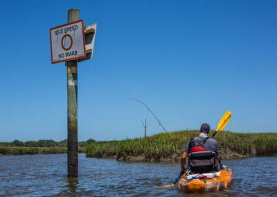 Kayak Fish Amelia Island-9620