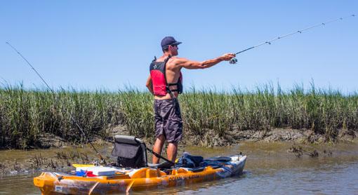Kayak Fish Amelia Island-9736