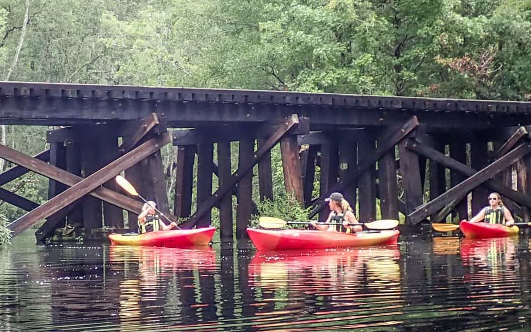 8-28-17 Lofton Creek Kayak Tour